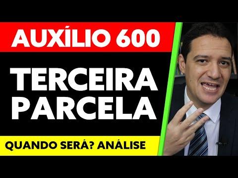 3 PARCELA DO AUXÍLIO EMERGENCIAL 600 REAIS: QUANDO SERÁ A TERCEIRA PARCELA DO AUXÍLIO