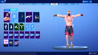 *NEW* Fortnite Skins & Emotes.! (Summer Drift, Deep End Emote, Beach Bomber) Fortnite Battle Royale