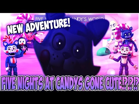 FNAF WORLD IMPROVED? | Five Nights At Candy's World The Adventure DEMO GAMEPLAY!