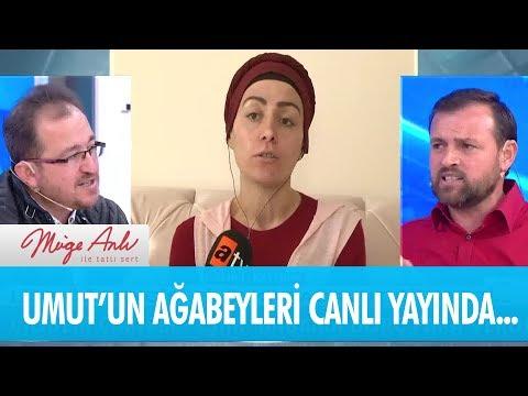 Katil zanlısı Umut'un ağabeyleri canlı yayında - Müge Anlı ile Tatlı Sert 24 Ocak 2019