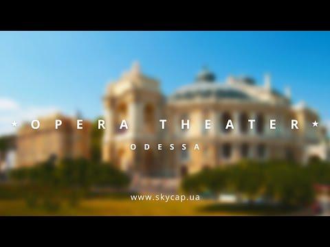 SkyCap Аэровидео: Одесский национальный академический театр оперы и балета.
