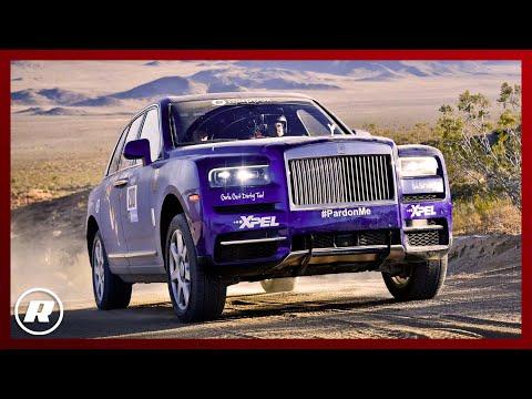 DESERT RACE! Off roading in a Rolls Royce Cullinan
