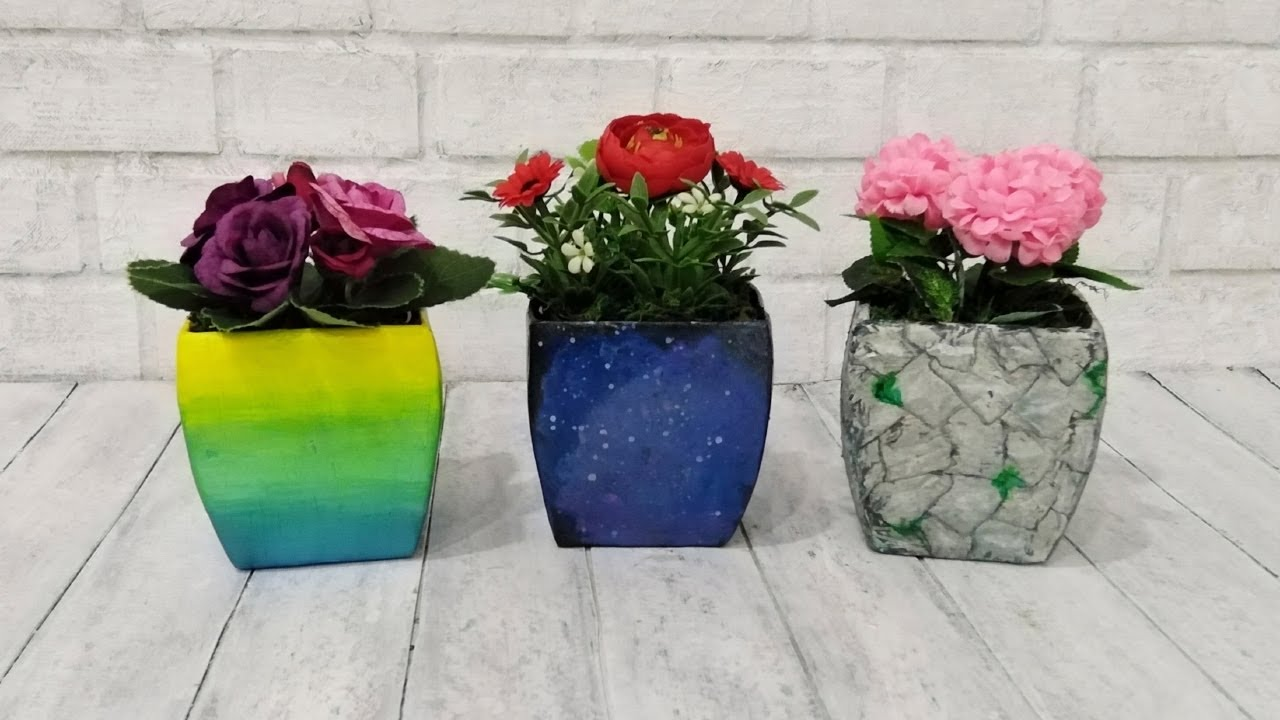 Цветочные Горшки Своими Руками - Handmade Flower Pots