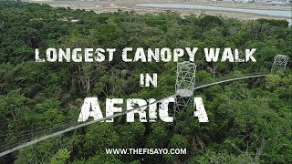 THIS IS NIGERIA!  The Longest Canopy Walk in AFRICA - Lekki Conservation Centre Vlog || The Fisayo