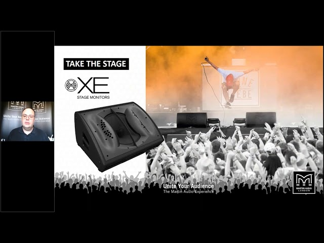 Martin Audio Stage Monitor Overview