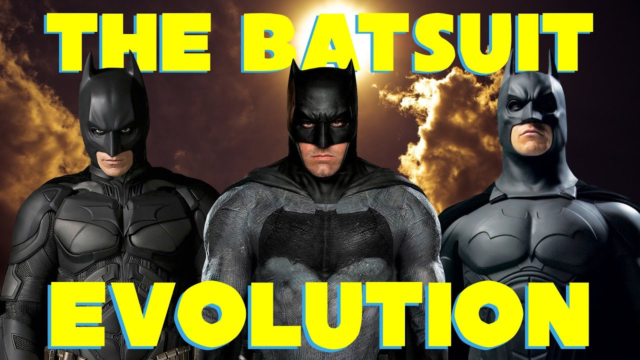 The Batman Live-Action Batsuit Evolution by efrajoey1 on ...