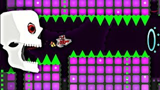 crazy 100 demon by davjt all coins geometry dash 211