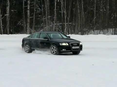 Audi A6 30t Snow Drift Youtube