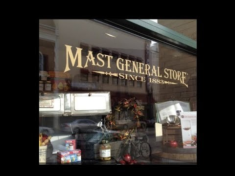 Vintage - Mast General Camping Store - Great Smoky Mountains - Knoxville, TN - Camper