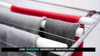 knicknix - Wäsche trocknet schneller & ohne Falten!