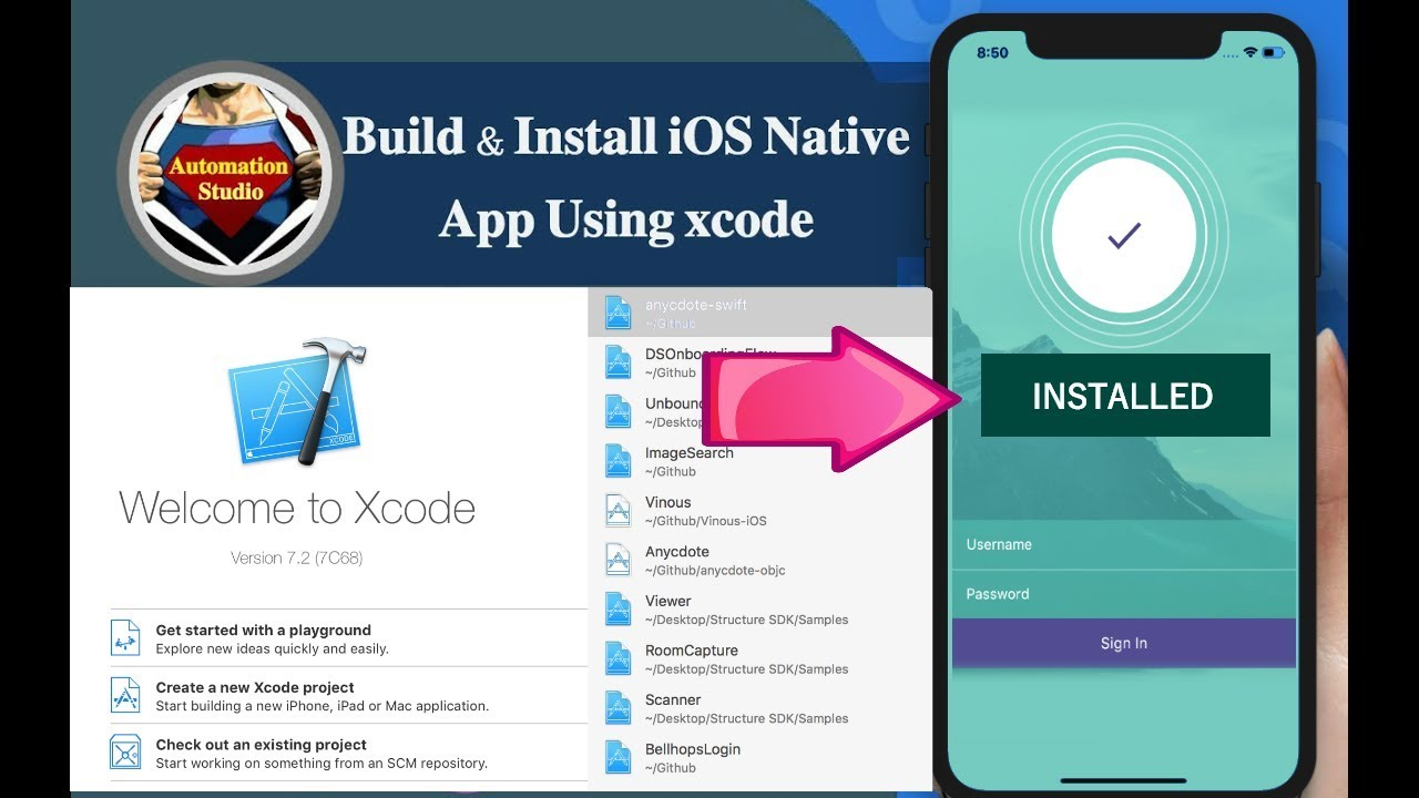 Session 18: Prepare Build And Install iOS Native App for
