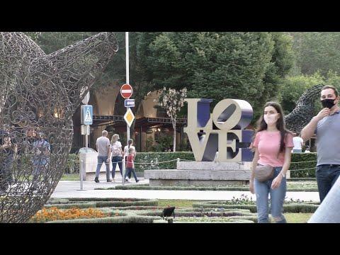 Ереван, 05.07.20, Su, Любимые места в центре, Каскад,  День 109, Video-1.