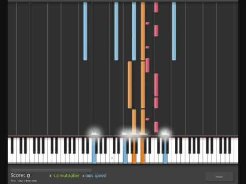 How To Play Bleeding Love by Leona Lewis on piano/keyboard