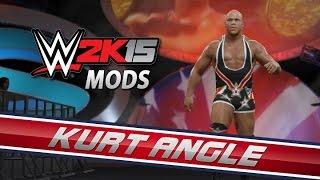 WWE 2K15 Mods: Kurt Angle