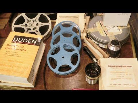 inbox 015: 16mm Film Reels, Projector Lenses, and a Duden