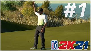 REX IS HEATING UP   Lighthouse Open Tournament   PGA Tour 2K21 Career Mode Episode #1