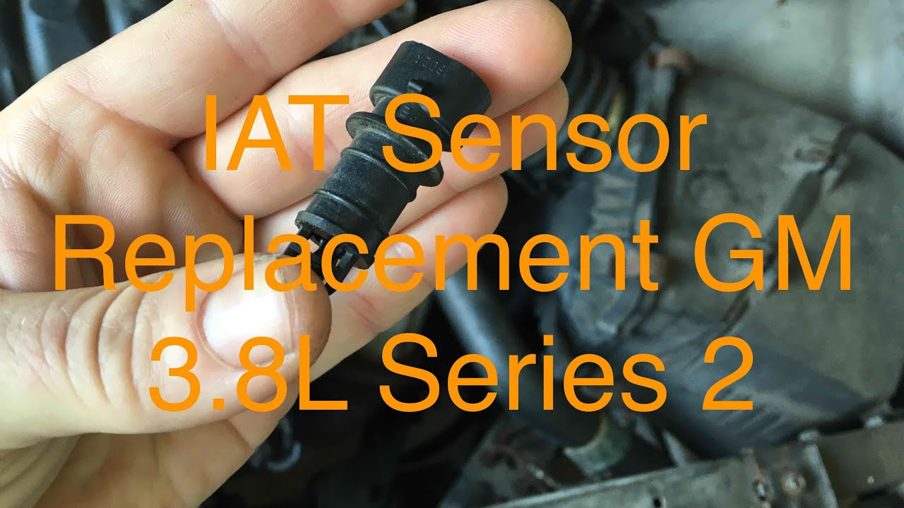small resolution of intake air temperature sensor replacement gm 3 8l v 6 series 2
