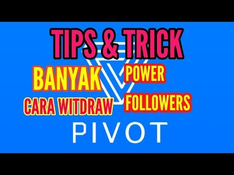TIPS & TRICK PIVOT BIAR BANYAK POWER & FOLLOWER, CARA WITHDRAW !