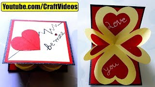 How to make pop up Valentine Cards