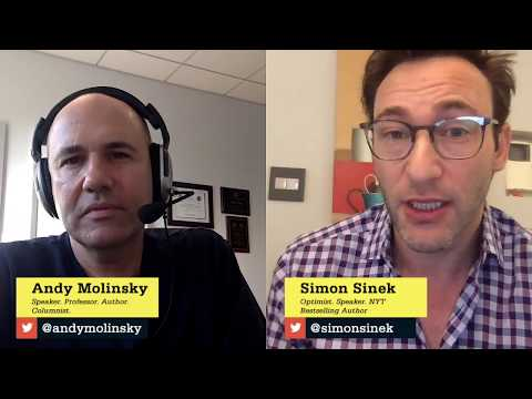 Andy Molinsky with Simon Sinek - The Reach Interview Series