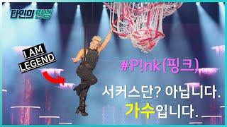 강렬한 퍼포먼스의 제왕, 레전드 팝가수 | 핑크(P!nk) 인생 풀스토리