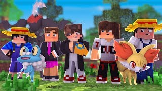 Minecraft: AVENTURA POKEMON - AMIGOS - ‹ JUAUM › #02