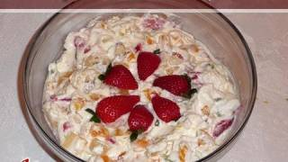Fruit Cream Recipe By Manjula