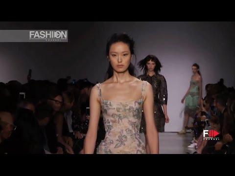 ZAC POSEN Highlights Show Spring 2017 New York by Fashion Channel