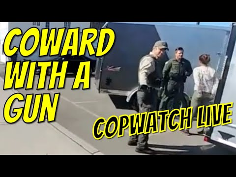 Copwatch Spokane Valley Police - They Make Contact Then Tell Me Not To Interject