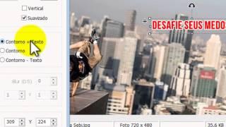 Como Escrever em fotos com o Photoscape