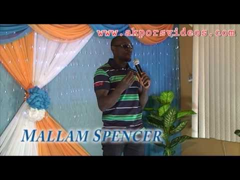 MALAM SPENCER in Laugh Out Loud Comedy Series 9