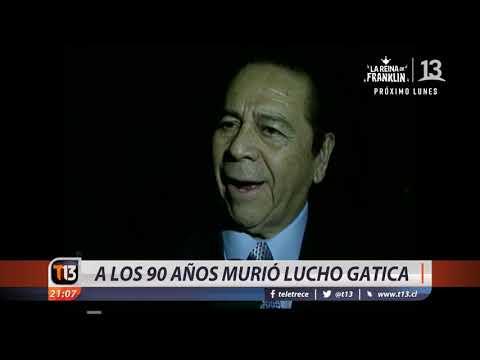 """Murió Lucho Gatica """"el rey del bolero"""""""