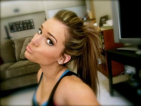 How i get a high ponytail with hair extensions youtube pmusecretfo Choice Image