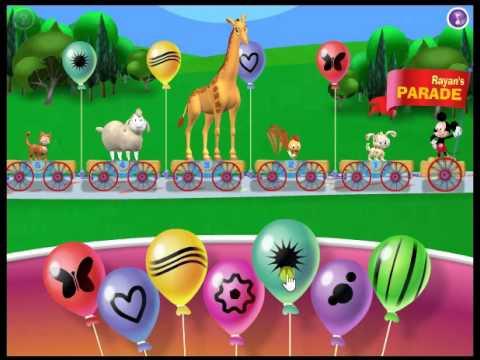 Mickey S Animal Video Parade Disney Junior Kidz Games