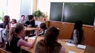 Урок математики в 5а классе