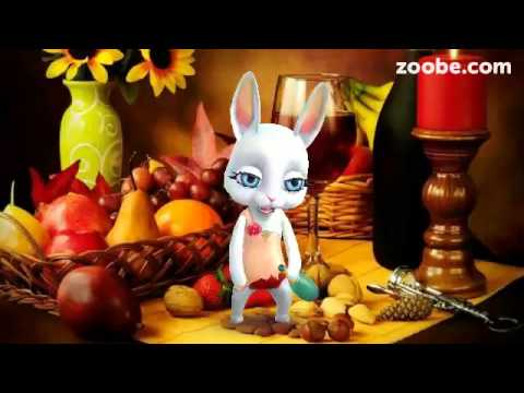 ZOOBE зайка Поздравление с 1 Апреля - Познавательные и прикольные видеоролики