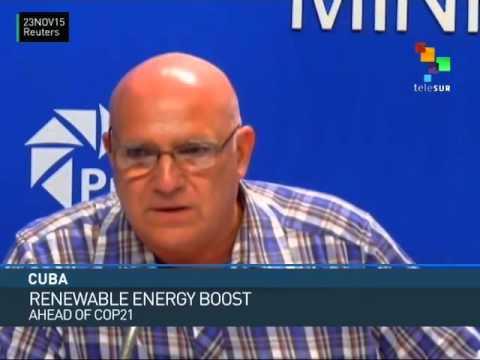 Cuba to Boost Use of Renewable Energy