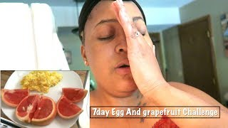 Grapefruit Diet - LOSING 20LBS IN 7DAYS | DAY1 GRAPEFRUIT AND EGG DIET
