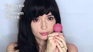 Pomaracza - łatwy i lekki makijaż