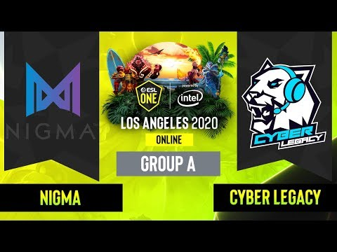 Nigma vs Cyber Legacy vod
