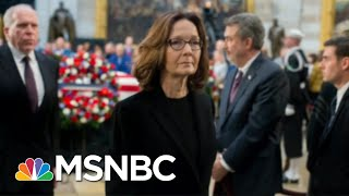 Gina Haspel Becomes CIA Director 'For Real' After Briefing | Morning Joe | MSNBC