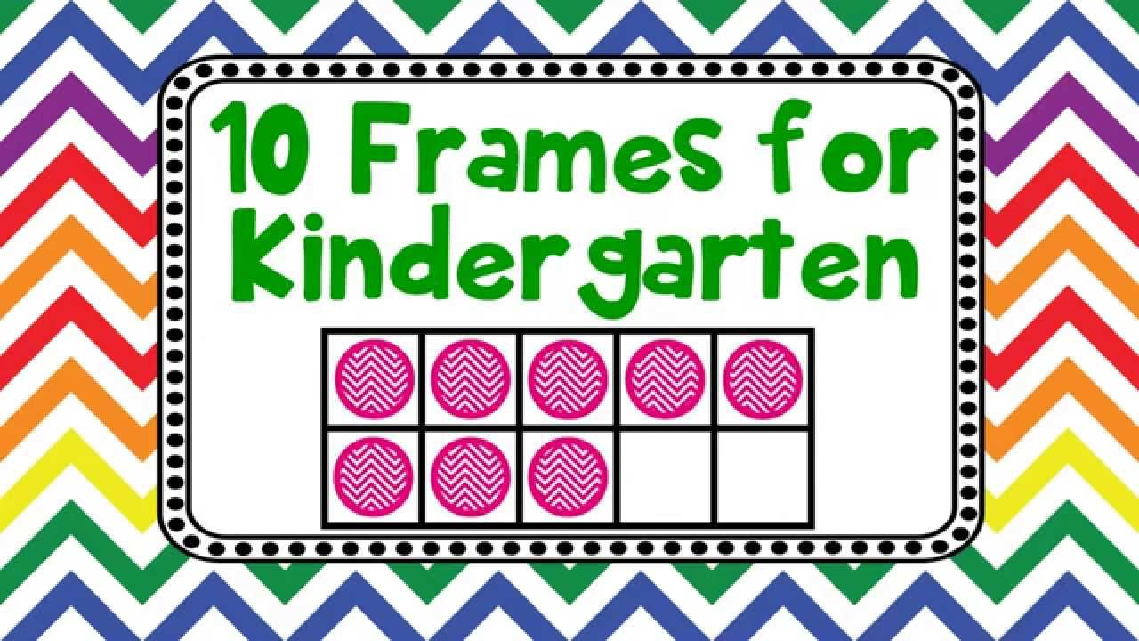 photo relating to Printable 10 Frame named 10 Frames for Kindergarten Children Introducing Counting Applying 10 Frames