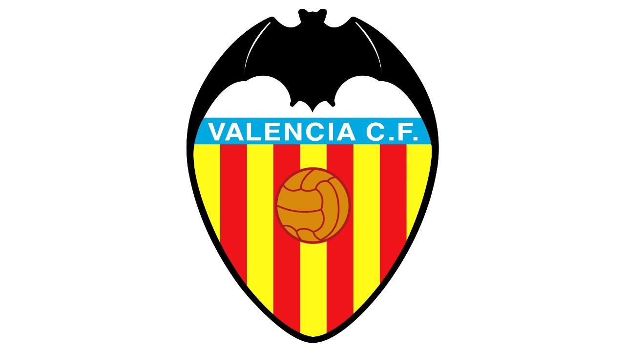 Bandera y escudo del valencia mestalla club de f tbol - Campo de futbol del valencia ...