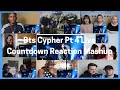Cover image Bts  Cypher 4 Live |  BTS COUNTDOWN Reaction Mashup