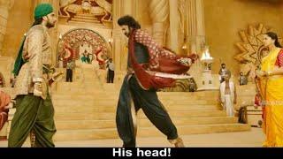 Bahubali 2 best scene in tamil