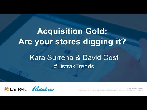 SMS Strategies: Acquisition Gold | Are Your Stores Digging It?