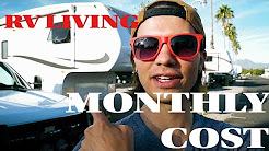 How much does LIVING in an RV cost?   AVERAGE Month