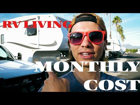 How much does LIVING in an RV cost? | AVERAGE Month