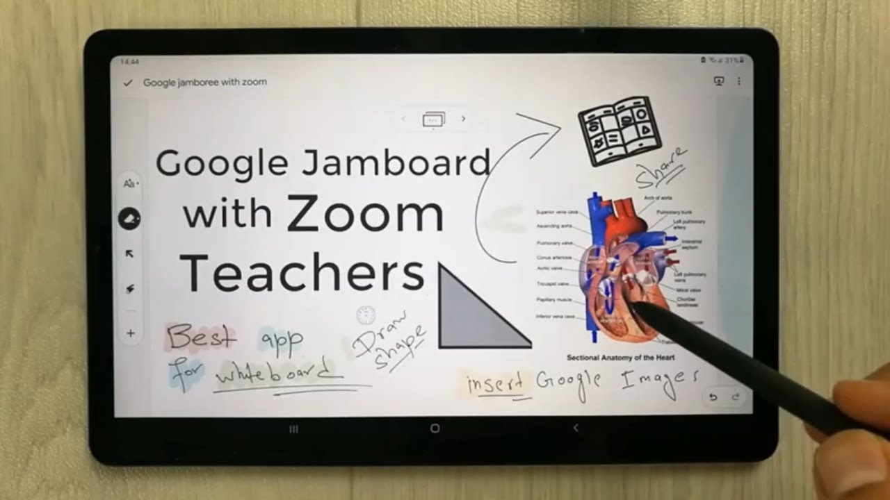 How To Use Google Jamboard With ZOOM In S6 Lite