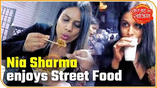 Gambar cover Nia Sharma Enjoys Street Food Of Indore | Saas Bahu Aur Saazish